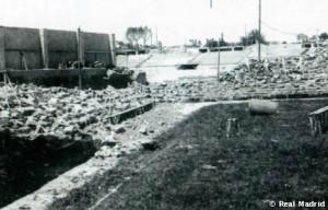 Chamartin Stadium after war