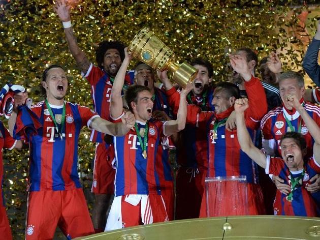 Bayern wins DFB Pokal