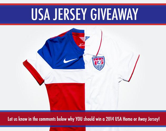 USA Jersey Giveaway