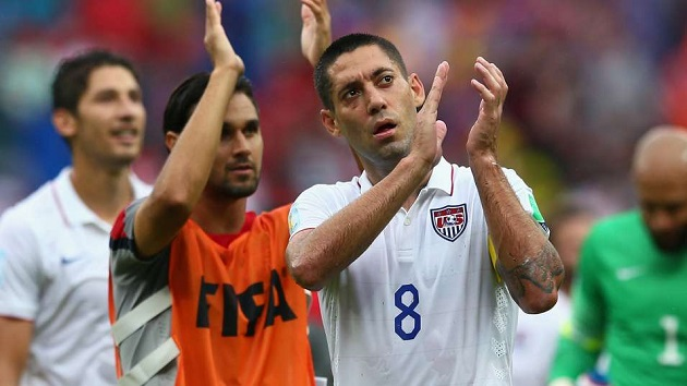 Dempsey after advancing in the World Cup