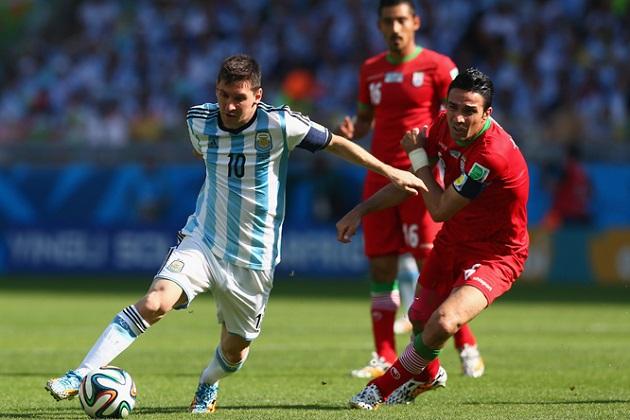 Messi vs. Iran