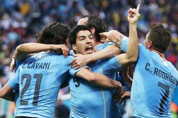 Suarez beats England