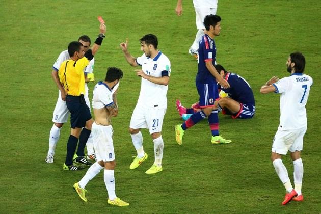 Japan vs. Greece