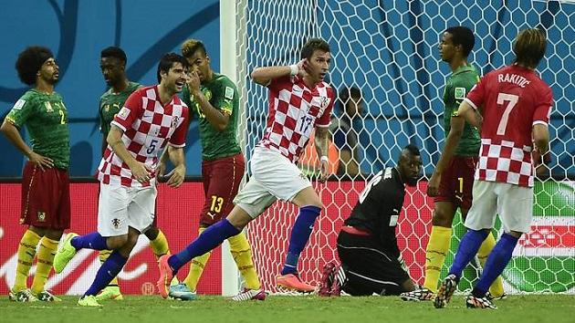 Mandzuckic scores for Croatia