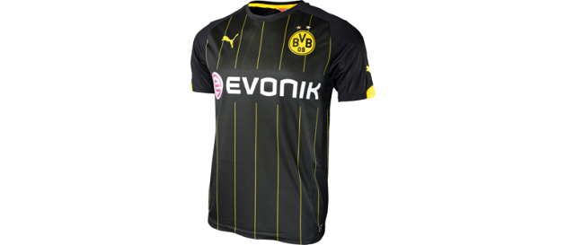 Dortmund Away Jersey 2014