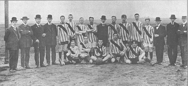 1913 Dortmund team