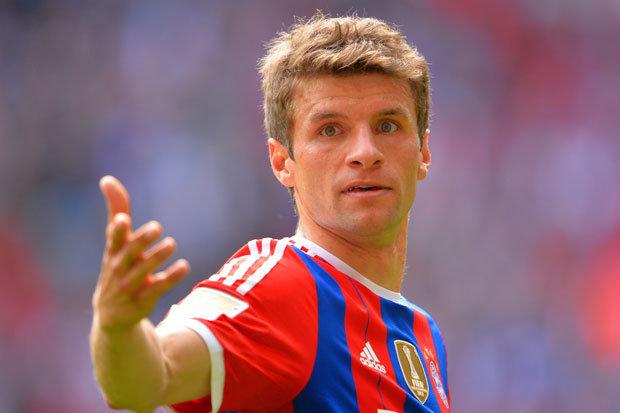 Bayern's Thomas Muller