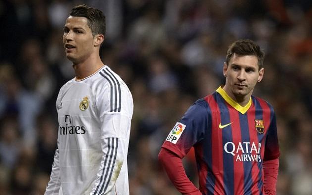 Cristiano and Lionel