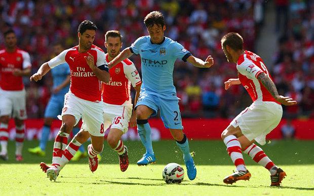 Silva for Man City