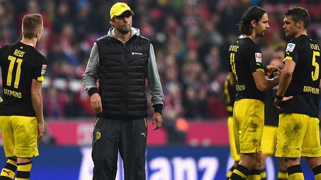 Klopp and Dortmund struggle