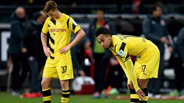 Dortmund dejected