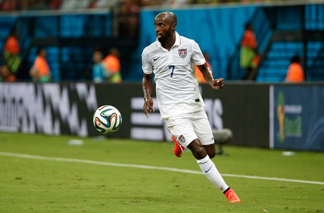 Beasley in 14 World Cup vs. Portugal