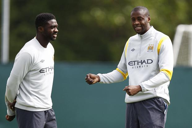 Yaya and Kolo Toure