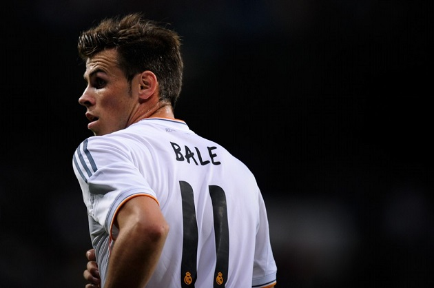 Bale with Real Madrid