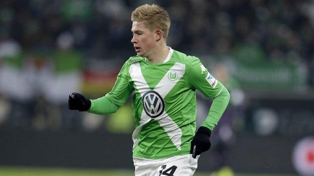 Wolfsburg's De Bruyne