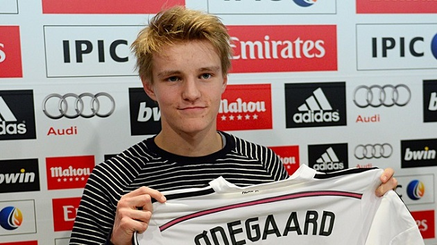 Odegaard signs with Real