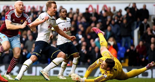 Kane scores for Tottenham