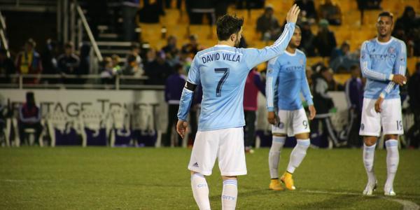 David Villa on NYCFC