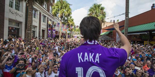 Orlando City and Kaka