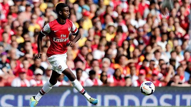 Arsenal's Gedion Zelalem