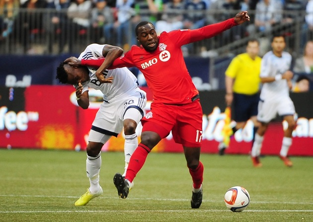 Jozy Altidore with Toronto FC