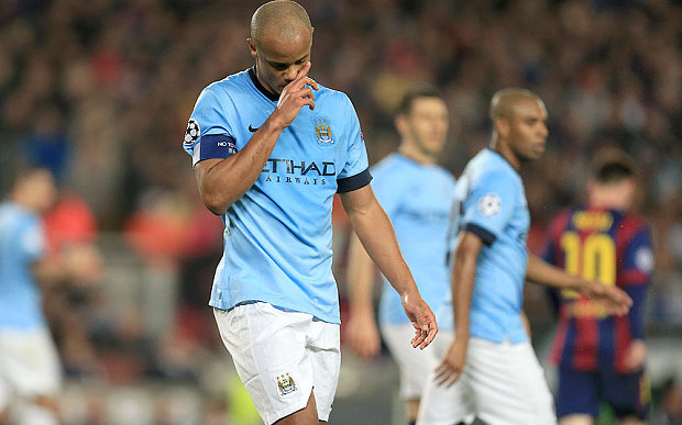 Man City's Kompany