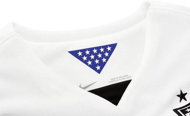 Nike USA Home Jersey collar