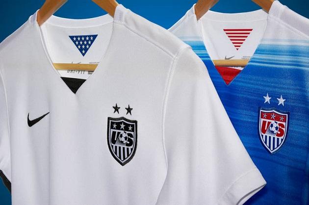 US home and away jerseys 2015 closeup