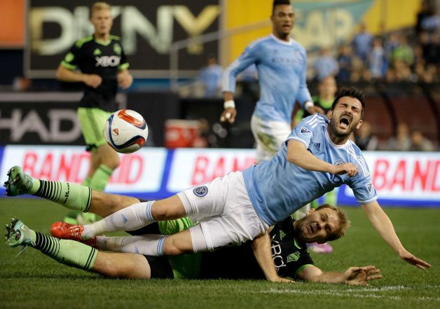 NYCFC David Villa vs Sounders