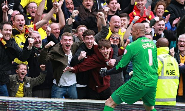 Watford win promotion