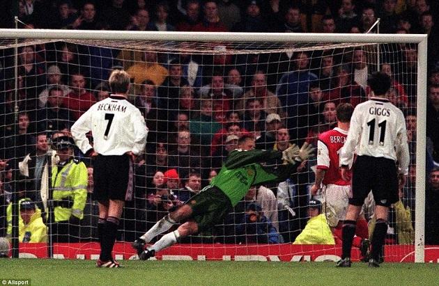 Man U and Arsenal in FA Cup 1999