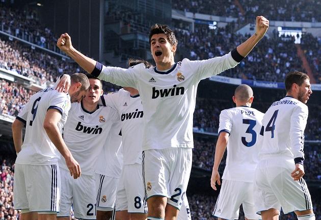 Morata for Real Madrid