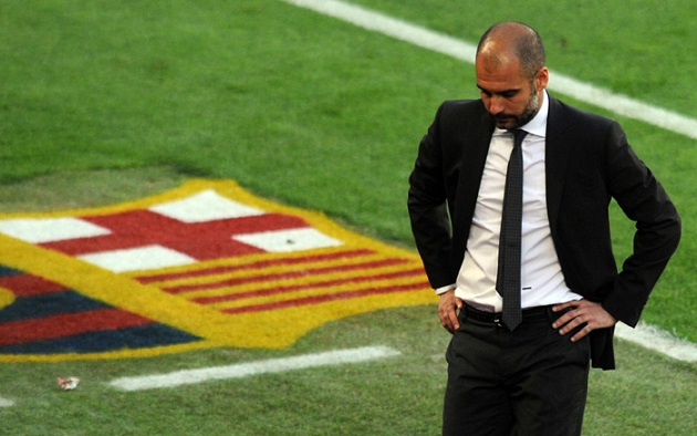 Guardiola and Barcelona