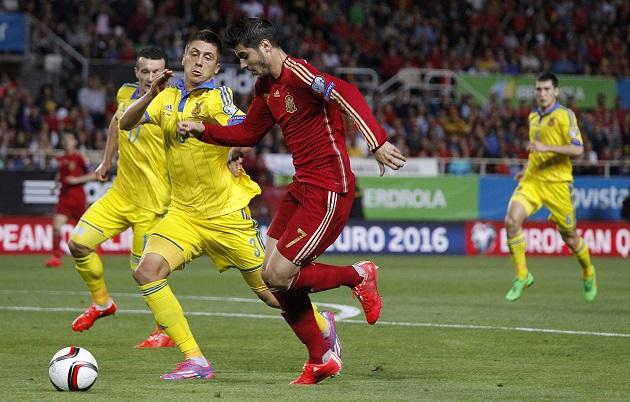 Morata for Spain