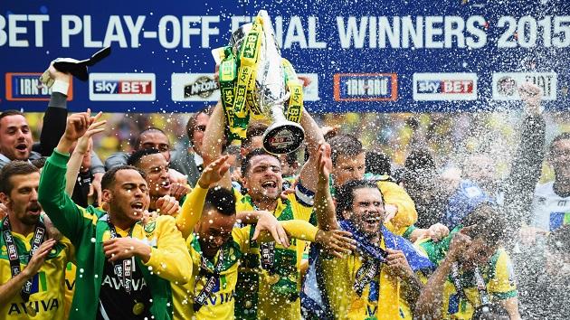 Norwich wins 2015 Premier League promotion