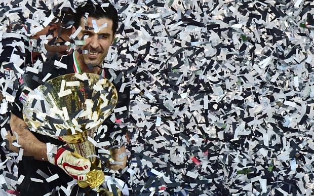 TOPSHOTS Juventus' goalkeeper and captai