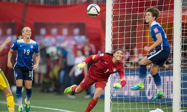 Klingenberg saves goal vs. Sweden