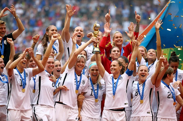USWNT wins 2015 World Cup