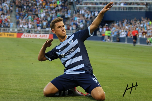 Sporting KC scores at Sporting Park
