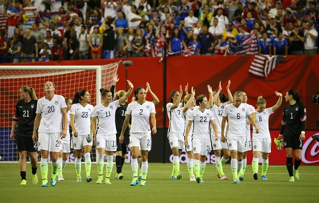 US Women's NT at 2015 World Cup