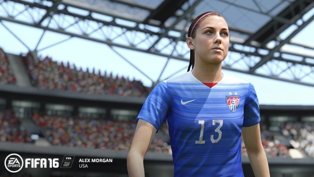 Alex Morgan in FIFA 16