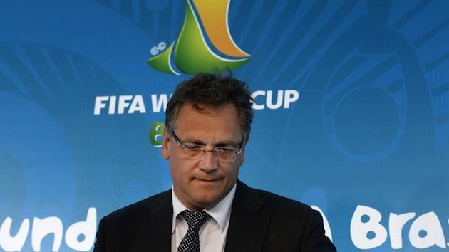 FIFA's Jerome Valcke