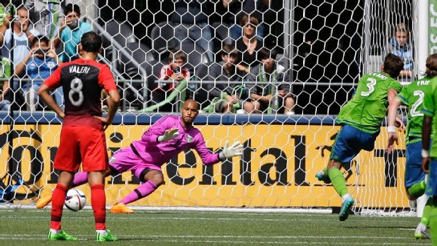 Sounders v. Timbers in Cascadia Cup 2015