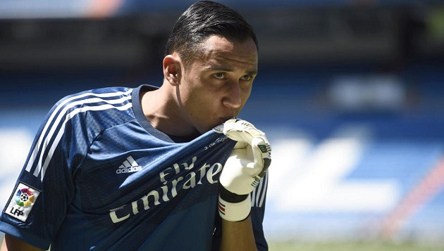 Real Madrid's new keeper, Keylor Navas