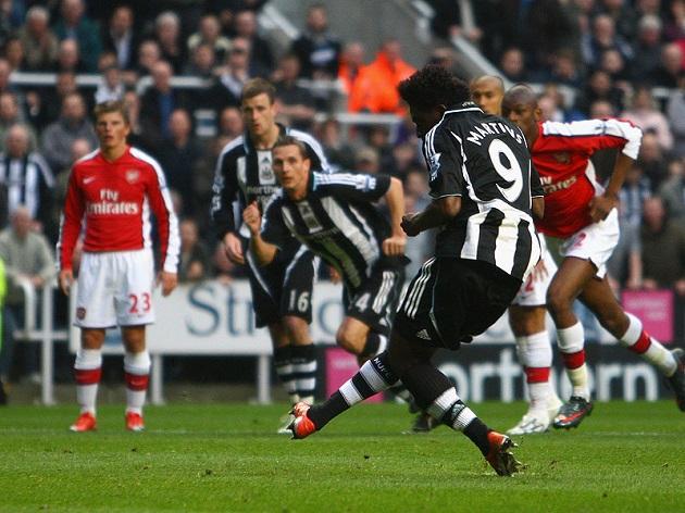 Newcastle's Obafemi Martins
