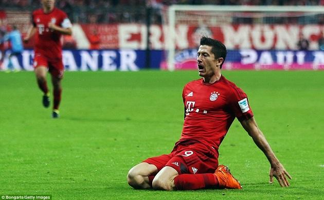 Bayern's Lewandowski
