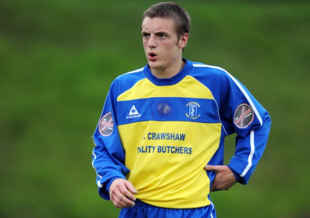 Jamie Vardy of Stocksbridge
