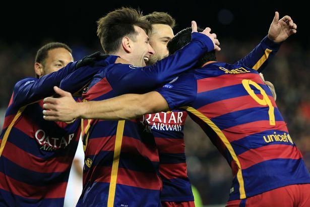 Barcelona Romp Roma