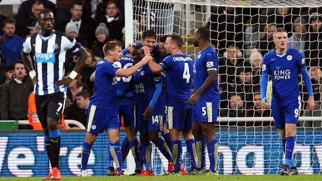 Leicester City atop EPL table
