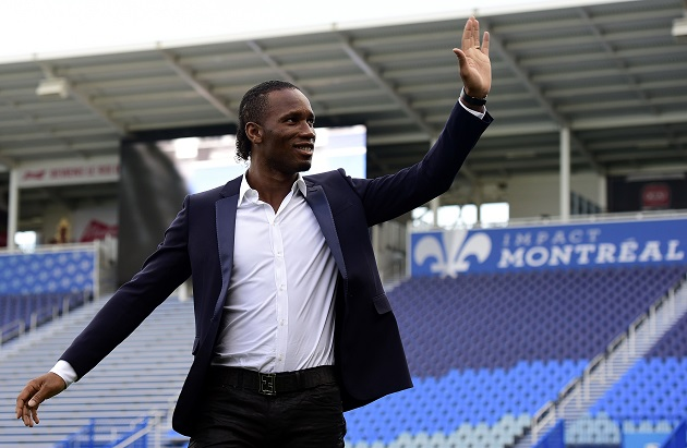 Drogba introduced in Montreal